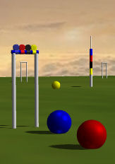3D Croquet lawn ... coming soon.