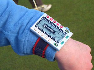 Electronic totaliser to track each ball's progress